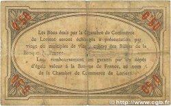 50 Centimes FRANCE régionalisme et divers Lorient 1915 JP.075.04 B
