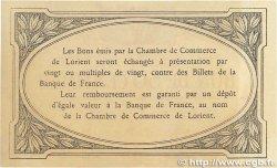 50 Centimes FRANCE régionalisme et divers Lorient 1915 JP.075.05var. SPL