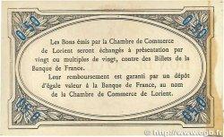 50 Centimes FRANCE régionalisme et divers LORIENT 1915 JP.075.14 TTB+