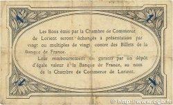 1 Franc FRANCE régionalisme et divers Lorient 1915 JP.075.15 TTB