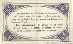 50 Centimes FRANCE régionalisme et divers LORIENT 1915 JP.075.20 TTB