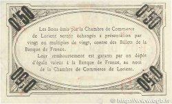 50 Centimes FRANCE régionalisme et divers LORIENT 1915 JP.075.26 TTB+