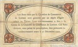 50 Centimes FRANCE régionalisme et divers LORIENT 1919 JP.075.29 TB