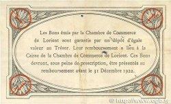 1 Franc FRANCE régionalisme et divers LORIENT 1919 JP.075.30 TTB