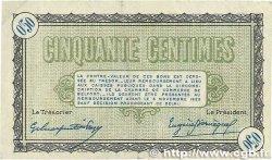 50 Centimes FRANCE régionalisme et divers Belfort 1918 JP.023.34 pr.TTB