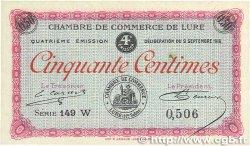 50 Centimes FRANCE régionalisme et divers LURE 1918 JP.076.24 pr.SPL