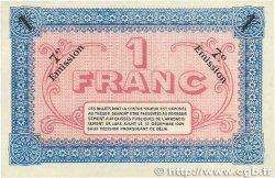 1 Franc FRANCE régionalisme et divers LURE 1921 JP.076.43 SUP