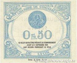 50 Centimes FRANCE régionalisme et divers LYON 1915 JP.077.05 TTB+