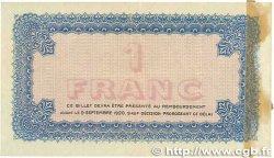 1 Franc FRANCE régionalisme et divers LYON 1915 JP.077.06 TTB