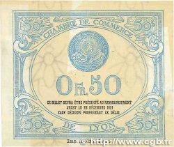 50 Centimes FRANCE régionalisme et divers Lyon 1916 JP.077.12 TTB