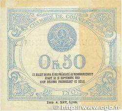 50 Centimes FRANCE régionalisme et divers Lyon 1917 JP.077.14 TTB+