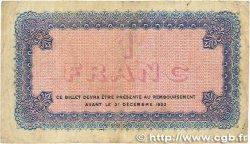 1 Franc FRANCE régionalisme et divers Lyon 1919 JP.077.19 TB