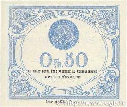 50 Centimes FRANCE régionalisme et divers LYON 1920 JP.077.22 TTB+