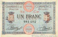 1 Franc FRANCE régionalisme et divers Macon, Bourg 1915 JP.078.08 SUP
