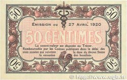 50 Centimes FRANCE régionalisme et divers Macon, Bourg 1920 JP.078.11 TTB+