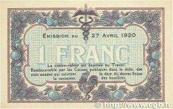 1 Franc FRANCE régionalisme et divers MACON, BOURG 1920 JP.078.12 TTB+