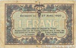 1 Franc FRANCE régionalisme et divers MACON, BOURG 1920 JP.078.12 B