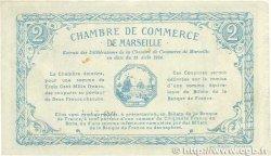 2 Francs FRANCE régionalisme et divers Marseille 1914 JP.079.18 TTB