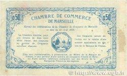 50 Centimes FRANCE régionalisme et divers Marseille 1914 JP.079.27 TTB