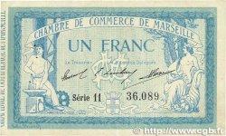 1 Franc FRANCE régionalisme et divers Marseille 1914 JP.079.31 TTB