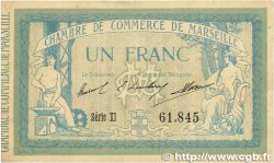 1 Franc FRANCE régionalisme et divers Marseille 1915 JP.079.49 TTB