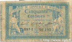 50 Centimes FRANCE régionalisme et divers Marseille 1915 JP.079.56 B