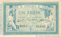 1 Franc FRANCE régionalisme et divers Marseille 1915 JP.079.60 TTB