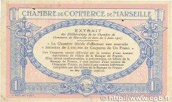 1 Franc FRANCE régionalisme et divers MARSEILLE 1917 JP.079.64 TTB+