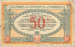 50 Centimes FRANCE régionalisme et divers Marseille 1917 JP.079.67 pr.TTB