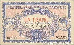 1 Franc FRANCE régionalisme et divers Marseille 1917 JP.079.70 TTB+