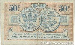 50 Centimes FRANCE régionalisme et divers Melun 1915 JP.080.01 TTB