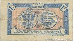 1 Franc FRANCE régionalisme et divers Melun 1915 JP.080.03 pr.TTB