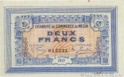 2 Francs FRANCE régionalisme et divers Melun 1915 JP.080.05 TTB