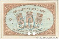 50 Centimes FRANCE régionalisme et divers MONT-DE-MARSAN 1914 JP.082.04 SUP+
