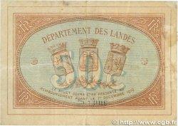 50 Centimes FRANCE régionalisme et divers Mont-De-Marsan 1914 JP.082.12 pr.TTB