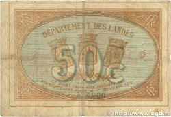 50 Centimes FRANCE régionalisme et divers MONT-DE-MARSAN 1914 JP.082.12 TB