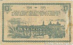 1 Franc FRANCE régionalisme et divers MONTAUBAN 1914 JP.083.06var. pr.TTB