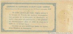 1 Franc FRANCE régionalisme et divers MONTLUÇON-GANNAT 1914 JP.084.05 pr.TTB