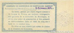50 Centimes FRANCE régionalisme et divers Montluçon, Gannat 1914 JP.084.10 TTB