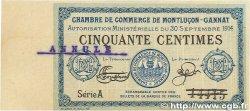 50 Centimes FRANCE régionalisme et divers  1914 JP.084.11var. TTB