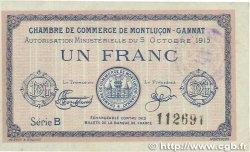 1 Franc FRANCE régionalisme et divers  1915 JP.084.15var. TTB+