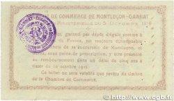 1 Franc FRANCE régionalisme et divers MONTLUÇON-GANNAT 1915 JP.084.15 TTB