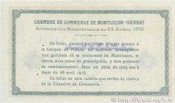 2 Francs FRANCE régionalisme et divers Montluçon, Gannat 1916 JP.084.27 TTB+