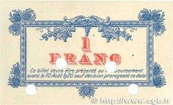 1 Franc FRANCE régionalisme et divers Montpellier 1915 JP.085.14 TTB+