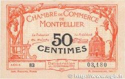 50 Centimes FRANCE régionalisme et divers MONTPELLIER 1917 JP.085.16 TTB+