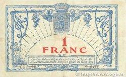 1 Franc FRANCE régionalisme et divers Montpellier 1917 JP.085.18 TTB