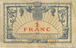 1 Franc FRANCE régionalisme et divers Montpellier 1919 JP.085.21 B