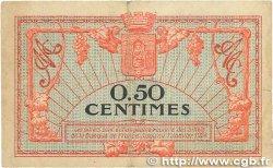 50 Centimes FRANCE régionalisme et divers MONTPELLIER 1921 JP.085.22 TB