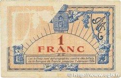 1 Franc FRANCE régionalisme et divers MONTPELLIER 1921 JP.085.24 TB