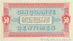50 Centimes FRANCE régionalisme et divers Moulins et Lapalisse 1916 JP.086.07 SUP